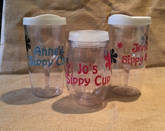 """Personalized """"Sippy Cup"""" Travel Mug"""