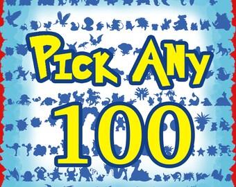 100 Pack Lapel Pins