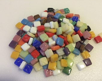 200 Classico Mini Mix Glass Mosaic Tiles