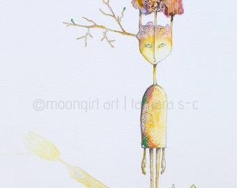 "8""x10"" Fine Art Print of Tree Spirit"