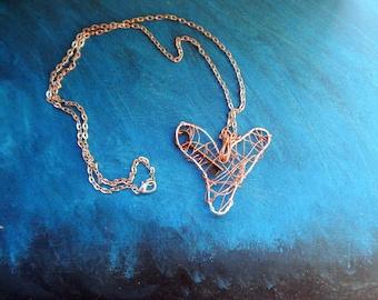 Statement Necklace-Key to my Heart-Unique Pendant