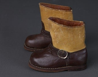 vintage 1940s motorcycle boots | toddler shoes