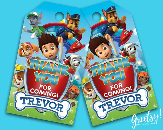 Sharp Paw Patrol Party Favors MyHomeImprovement