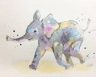 Baby elephant (MADE TO ORDER)
