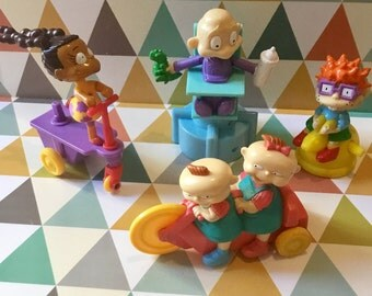 Quick/Burger King Rugrats (Rugrats) early 1990s toys