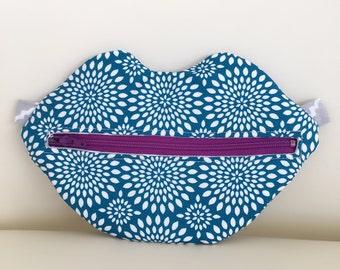 SWAK Trance Turquoise lip bag