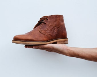 Chukka Boots in Real Leather