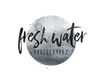 Silver Logo / Silver Photography Logo / Silver Foil Logo / Modern Logo Design / Restraunt Logo / Wedding Planner Logo / Event Logo Designer
