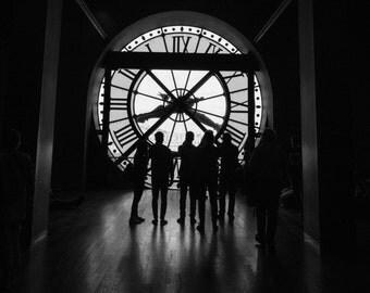 Musée d'Orsay, Paris Photography, French Home Decor, Black and White, Paris Print, Fine Art Photography, Paris Wall Art, France Wall Art