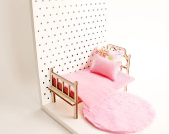 Doll house furniture, miniature furniture, birthday gift, gift for kids