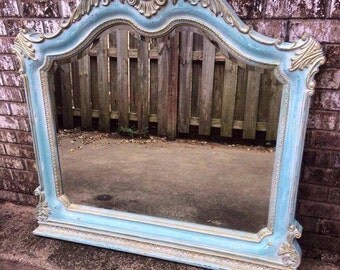 SOLD Ornate Mirror