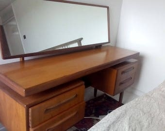 dresser with mirror - OR- office desk (floating) G PLan. MCM