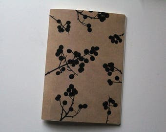 Handmade notebook Berry
