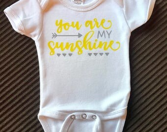 Baby One Piece- You are my sunshine