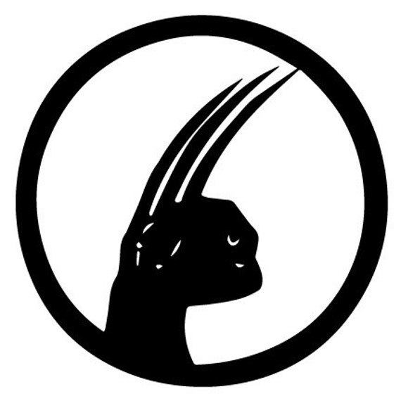Vinyl Decal Sticker - Wolverine Decal for Windows, Cars, Laptops, Macbook, Yeti, Coolers, Mugs etc
