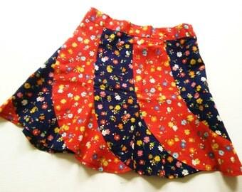 HiPpiE rock 70s coaCheLLa 116 VinTage 70s RetRo skirt girls dress 5-6Y hipster