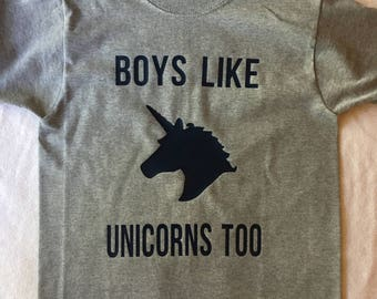Boys Like Unicorns Too!