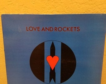 Love and Rockets - Seventh Dream of Teenage Heaven 1985 vinyl album