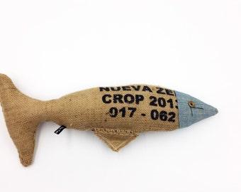 Fish Wallhanging - Textile Art