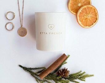 Christmas Special/Nutmeg, Orange & Cinnamon - Jewellery Candle