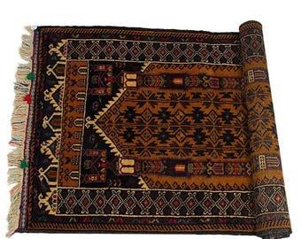 Turkmen Rug Semi Antique