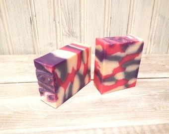 Pink Pop Cold Process Artisan Soap, Small Batch Soap, Vegan Soap