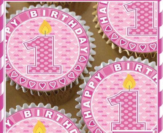 2 Doz Oreo First Birthday Chocolate Covered Oreo Girl Boy 1st Birthday