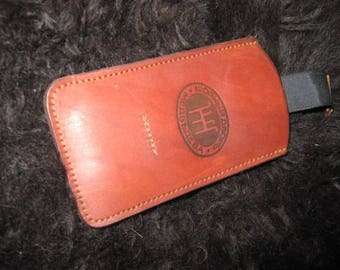 Case for IPhone, Case for mobile phone, genuine leather, Handmade
