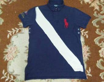 vintage POLO RALPH LAUREN shirt yacht club big pony size M