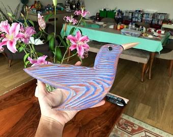 Wooden Wall Birds -
