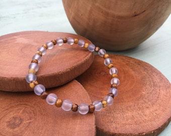 Beaded Bracelet - Meditation Bracelet - Mala Bracelet - Boho Bracelet - Bracelets for Women - Jewelry - Bracelets - Bohemian Jewelry