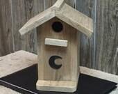 Birds-Little Outhouse Bird Feeder