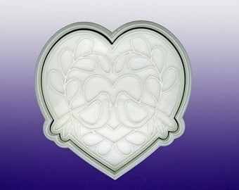 Birds in the Heart Cookie Cutters