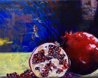 "Juicy Pomegranate 5x7"""