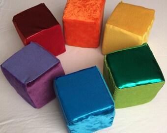 Rainbow soft blocks