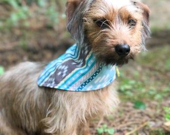 Dog Scarf - Dog Cape - Summer Dog Bandana - Dog Accessories - Personalized Dog Bandana - Dog Bandana - Puppy Bandana
