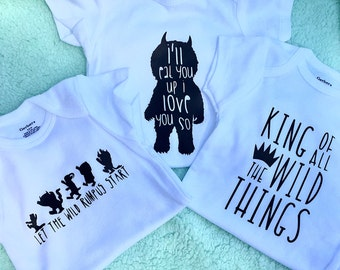 King Of All The Wild Things Onsies