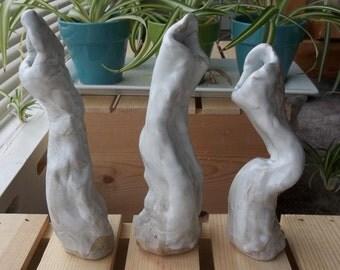 Emotive Slab Vases
