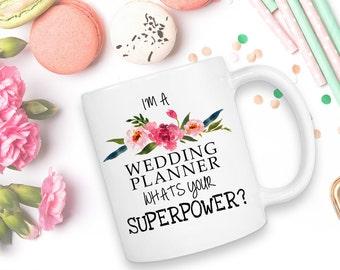 Wedding Planner, Wedding Planner Mug, Wedding Planning Mug, Wedding Organizer, Wedding Planner Mug, Wedding Coordinator, Event Planner, Mug