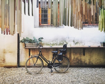 Florence Photography, Italy Photography, Florence Wall Art, Bicycle Print, BonneRoutePhotos