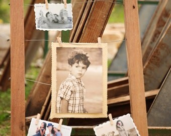 Wood Photo Frame, Bulletin Board, Message Board,  Wire Memo Board,  Rustic Decor,  wood Frame,  Distressed Picture Frame, Shabby chic design