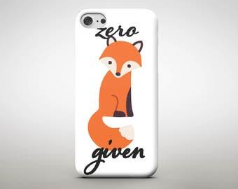Zero fox given phone case