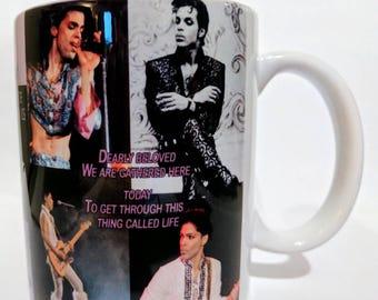 Prince Coffee mug 6 Prince coffee cup, Prince memorabilia