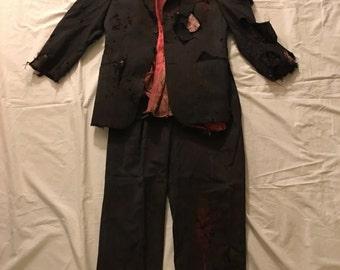 Zombie men's suit and shirt