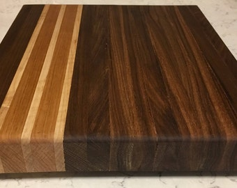 Walnut, Cherry, Maple Cutting Board