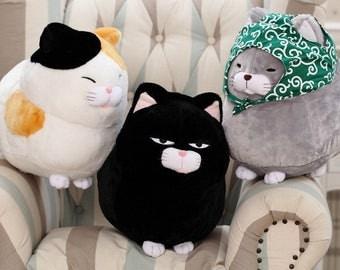 Super Cute Stuffed Fluffy Cat Plush Toy