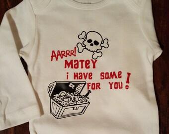 AARRR! Matey Baby Onsie