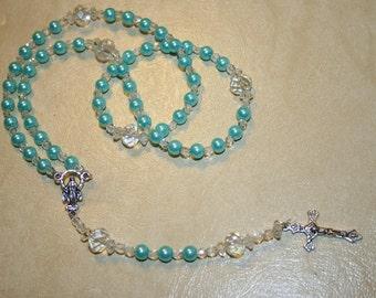 Marian Blue Rosary
