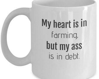 Farmer Mug, Farmer Gift, Farming Gift, Gift for Farmers, Farmer Funny Mug