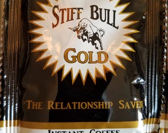 Stiff Bull Gold Coffee 100 Packs